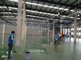 工业厂房环氧面漆滚涂